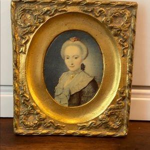 Vintage Ornate Portrait Picture